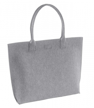 Shopper - silver grey